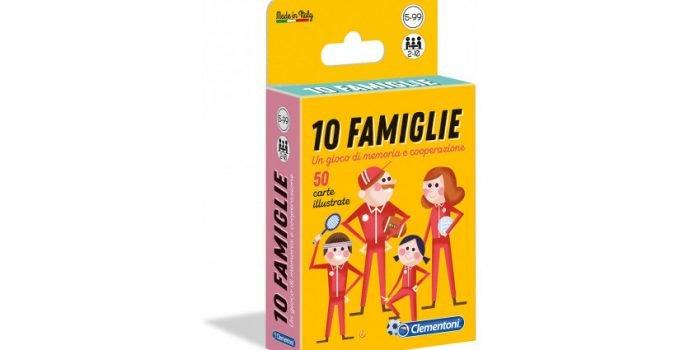 10 Famiglie, il Gioco di Carte Che Stimola la Fantasia e l'Immaginazione