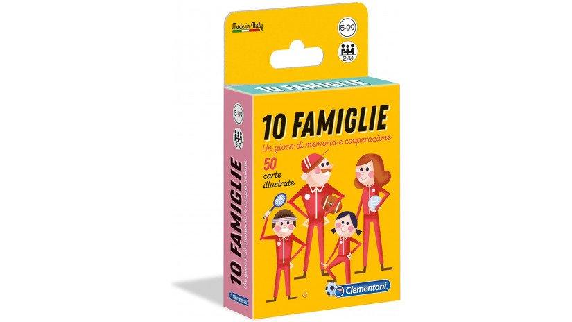 gioco di carte 10 famiglie